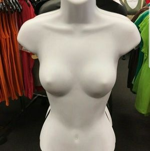 Hollow hanging mannequin